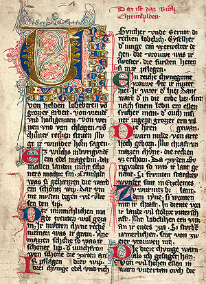"Picture: Page from the ""Prunner Codex"""