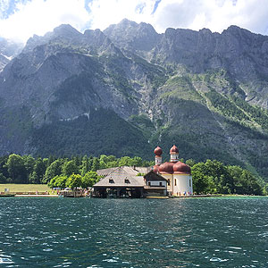 Picture: St Bartholomew's Church on the Königssee